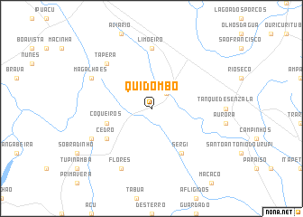 map of Quidombo