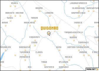 map of Quidombo