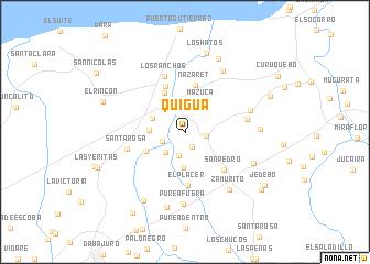 map of Quigua