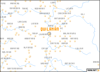 map of Quilaman