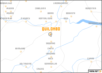 map of Quilombo
