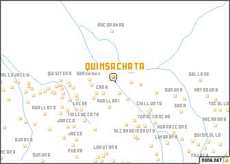 map of Quimsachata