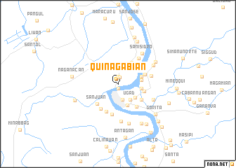 map of Quinagabian