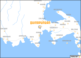 map of Quinapundan