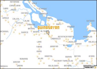 map of Quinasay-an