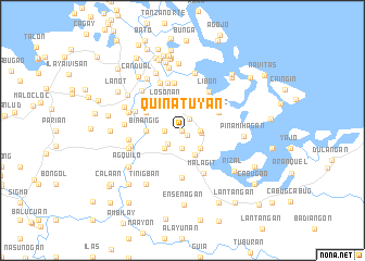 map of Quinatuyan