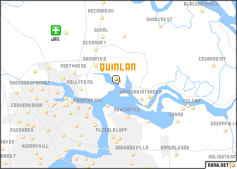 map of Quinlan