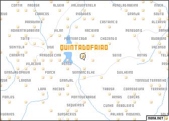 map of Quinta do Faião