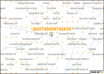 map of Quinta do Mato Demo
