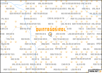 map of Quinta do Sirol