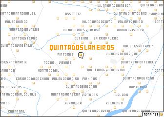 map of Quinta dos Lameiros