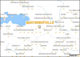 map of Quintanaentello