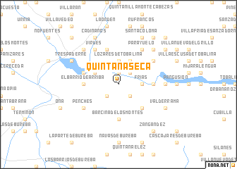 map of Quintanaseca