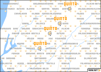 map of Quintã