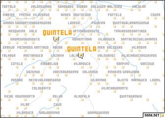 map of Quintela