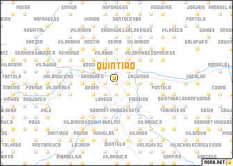 map of Quintião