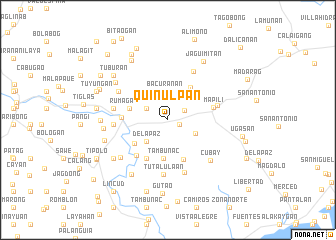 map of Quinulpan