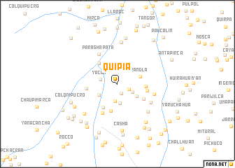 map of Quipia