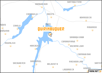 map of Quirimbuquer