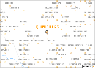 map of Quirusillas
