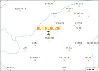 map of Quita Calzón