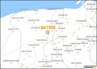 map of Quitare