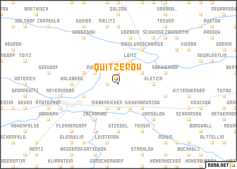 map of Quitzerow