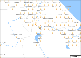 map of Qui Vinh