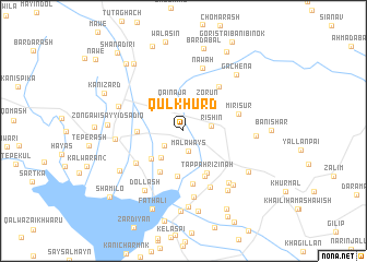map of Qulkhurd