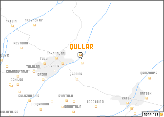 map of Qullar