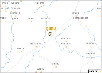 Qunu (South Africa) map   nona.net