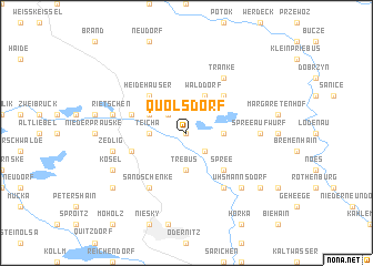 map of Quolsdorf
