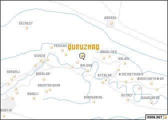 map of Quruzmaq