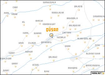 map of Qusar