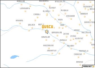 map of Quşçu