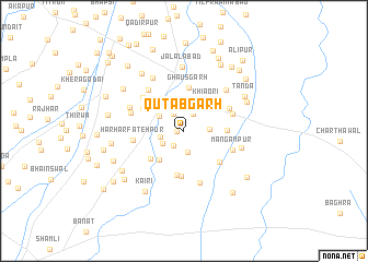 map of Qutabgarh