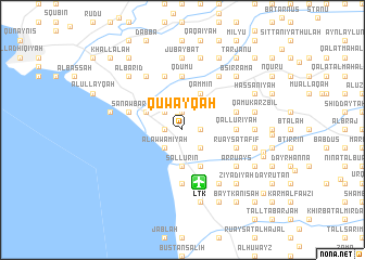 map of Quwayqah