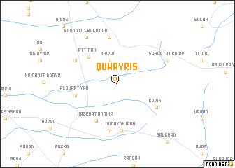 map of Quwayris