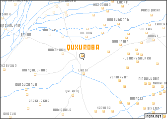 map of Quxuroba