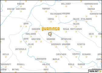 map of Qwaninga