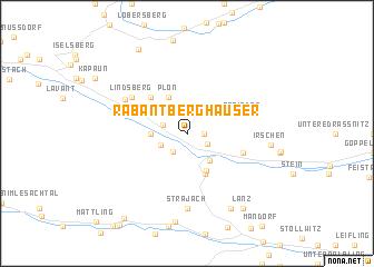 map of Rabant Berghäuser