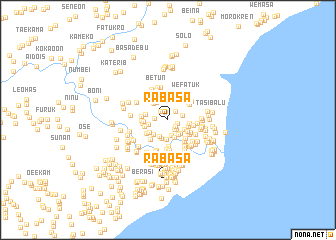 map of Rabasa