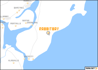 Map Of Rabbit Bay