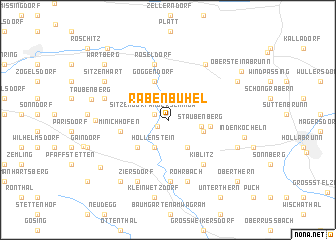map of Rabenbühel