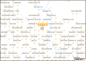 map of Raben