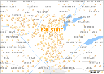 map of Rablstätt