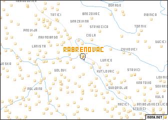 map of Rabrenovac
