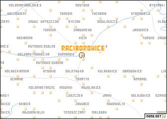 map of Raciborowice