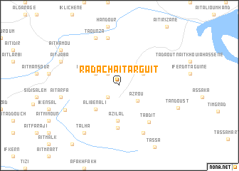 map of Radach Aït Arguit