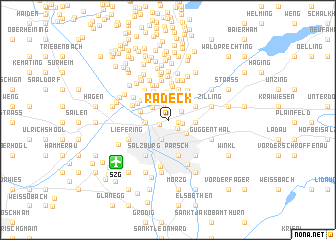 map of Radeck
